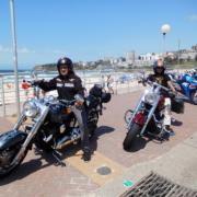 Harley tour Eastern suburbs, Sydney