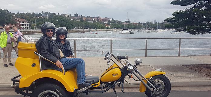 trike Eastern Panorama Tour, Sydney