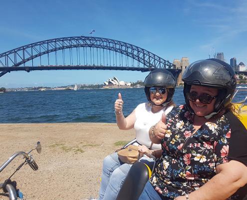 the 3 Bridge trike tour, Sydney