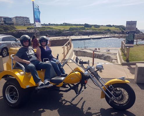 City Viewer trike tour, Sydney