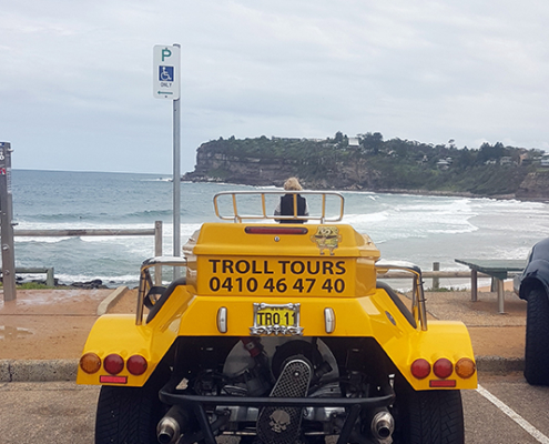Northern Beaches exploration by trike