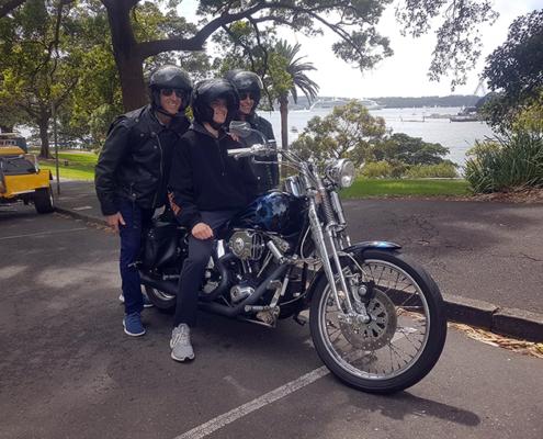 trike and Harley tour Sydney