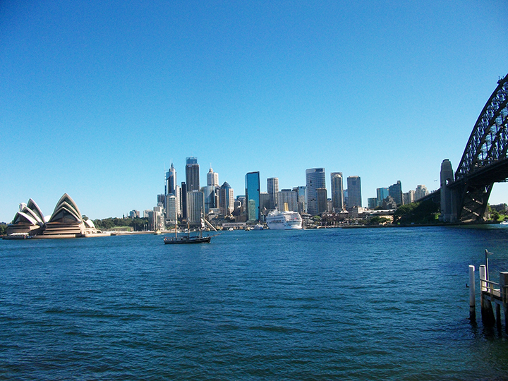 Sydney Harbour Harley tours