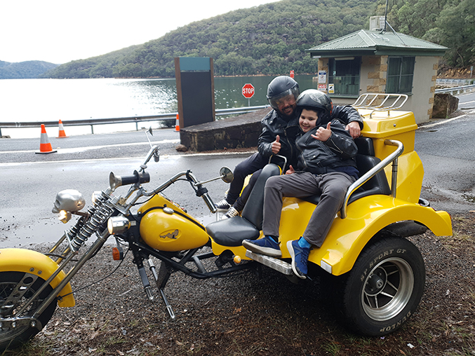 Broken Bay trike tour, Sydney