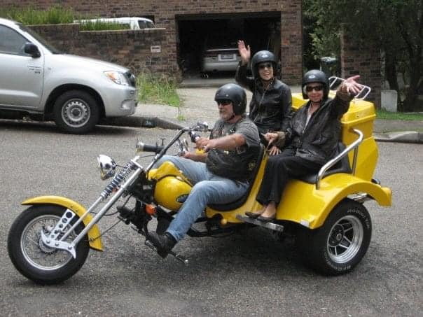 A 12 year old memory of a trike tour