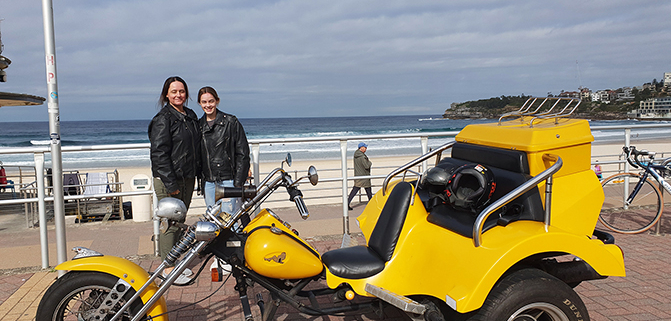 Eastern panorama trike tour, Sydney