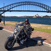 Harley birthday present surprise, Sydney