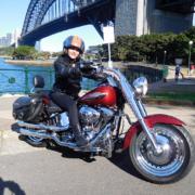 Harley tour 60th birthday present, Sydney