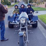 Surprise 11th birthday trike ride, Sydney