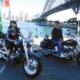 A birthday present Harley tour, Sydney