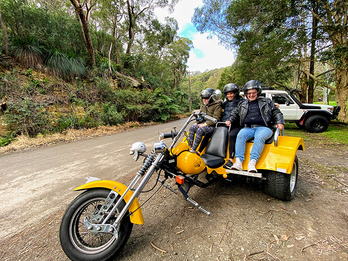 Short disability trike rides,Sydney