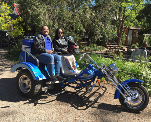Megalong Valley trike tour, Blue Mountains, Australia