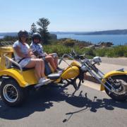birthday surprise trike ride, Sydney