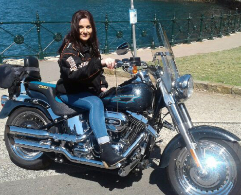 Sydney Harley tour present