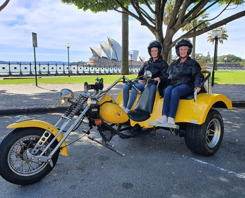 A 70th birthday Harley trike tour, Sydney Asutralia