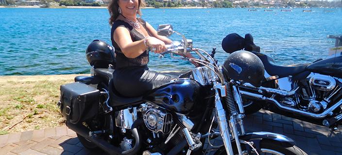 Harley ride, birthday transfer, Sydney Australia