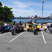 Trike tour for disability passengers, Sydney Australia