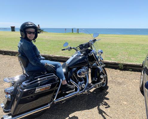 Surprise 70th birthday Harley tour, Sydney Australia