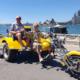 A last minute Sydney Harbour Bridge trike tour.