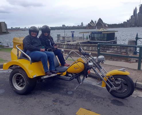 A 3 Bridges trike tour, Sydney Australia