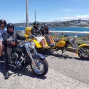 Harley and trike tour, Sydney Australia