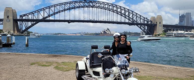 fun trike tour present, Sydney Australia