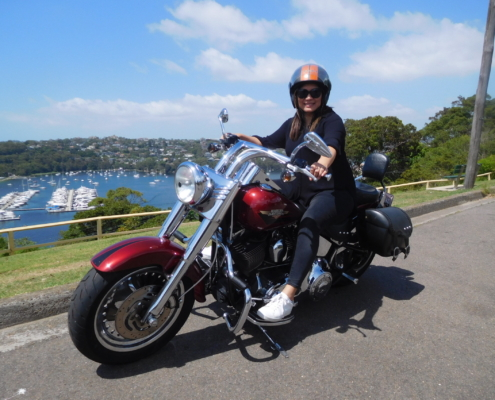 10th anniversary Harley tour, Sydney Australia