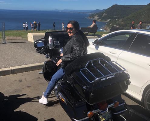 Southern Sydney Harley tour, Australia