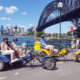 trike tour Christmas presents, Sydney Australia