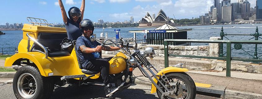 3Bridges trike tour around Sydney Australia