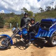 trike tour into the country. Sydney Australia