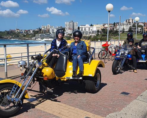 21st birthday trike tour, Sydney Australia