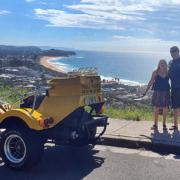 surprise 50th Beach Beauty tour. Sydney Australia
