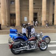 A Harley and trike tour, Sydney Australia