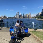 60th present 3bridges tour. Sydney Australia