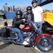 Harley and trike tour in Sydney, Australia