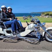 wife's surprise birthday present. A trike tour around Sydney Australia.