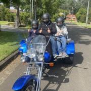 birthday surprise trike tour. Sydney Australia