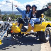 22nd birthday trike tour, Sydney Australia