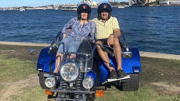 Surprise 3 bridges trike tour. Sydney Australia