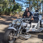 The surprise southern spectacular tour. A 4 hour trike tour of the areas south of Sydney.