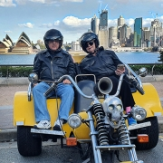 The 3 Bridges trike tour in Sydney Australia.