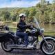 A Harley ride birthday gift through the Royal National Park. Sydney Australia