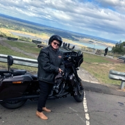 Lower Blue Mountains Harley tour. West of Sydney.