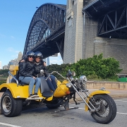 A surprise 50th birthday trike tour. Sydney Australia