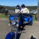 Nick has cerebral palsy but loves doing the trike rides with us. He self bought the trike tour. Sydney Australia.