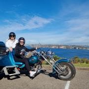 Northern Sydney trike tour for a birthday.