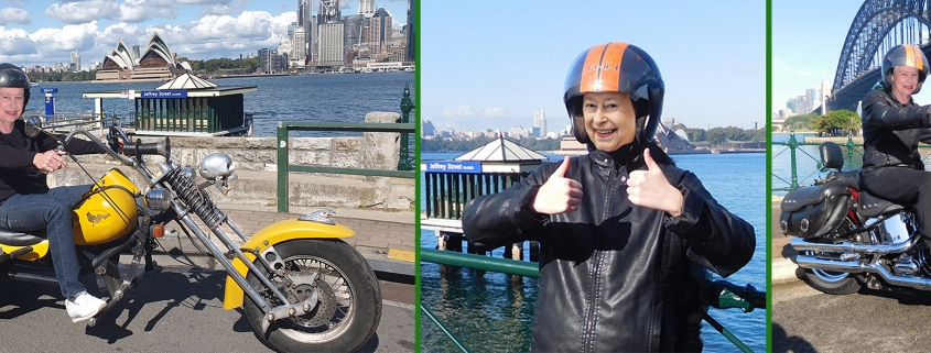 It's the Queen's Birthday: June long weekend. The Queen would love our Harley and trike tours. Sydney Australia