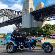 Sydney Harbour trike tour. Australia