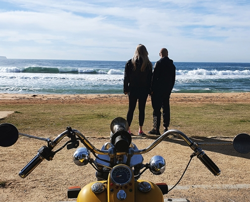 A northern peninsula trike tour, north of Sydney. It took in Palm Beach, Whale Beach and Pittwater.